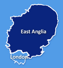 East Anglia and London